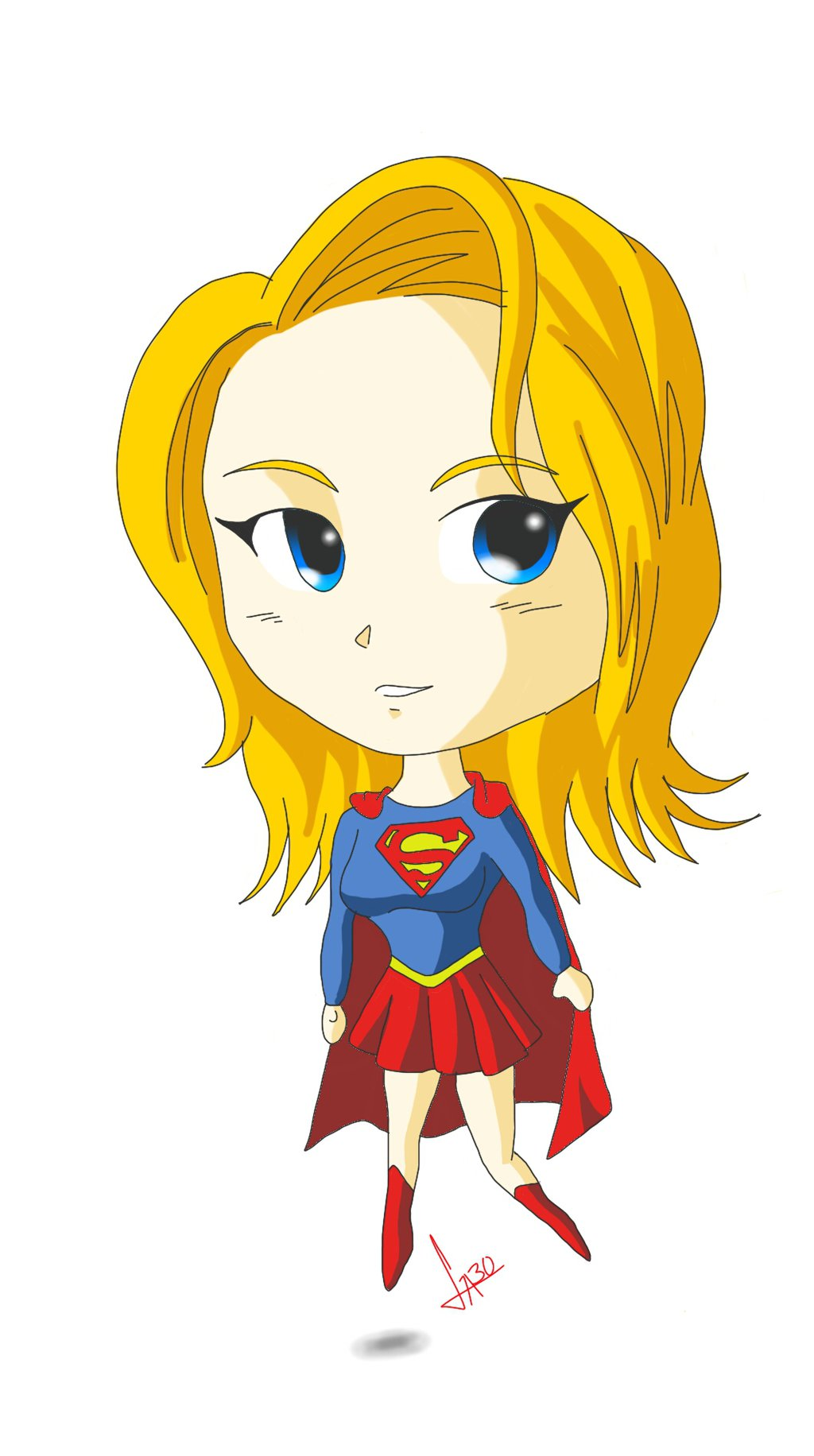 Super Girl clipart chibi GABOND12 GABOND12 style on style