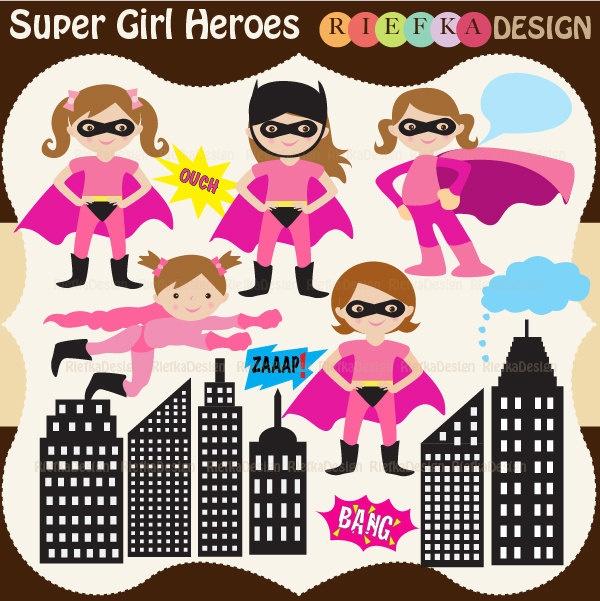 Super Girl clipart everyday hero Girl images via on 00