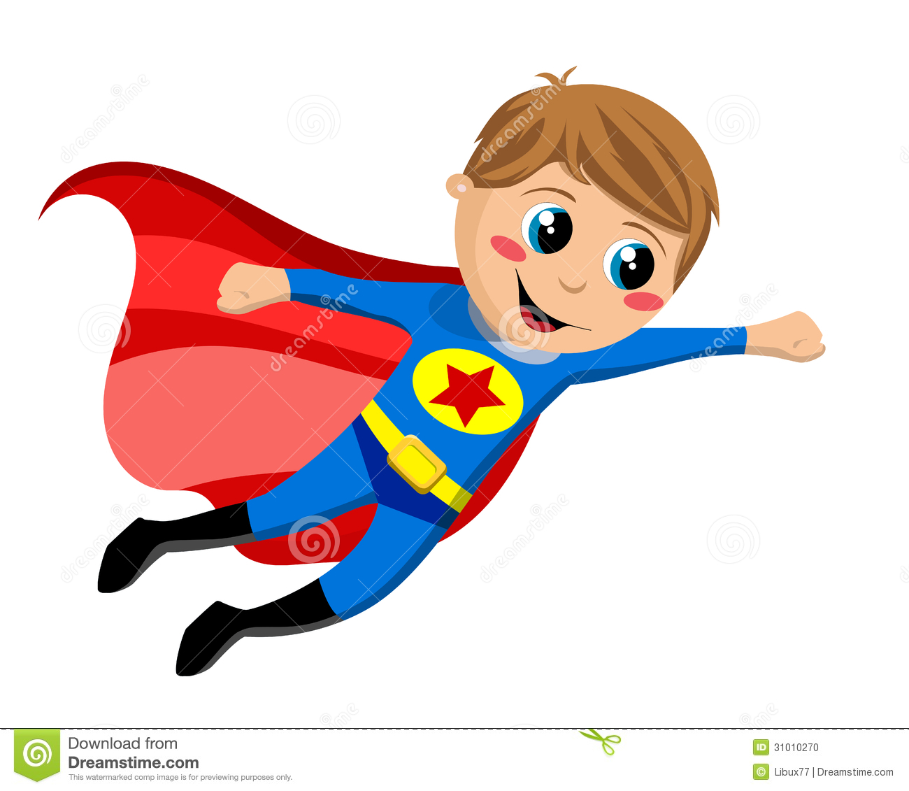 Boy clipart superhero – Kid superheroes Happy 2017