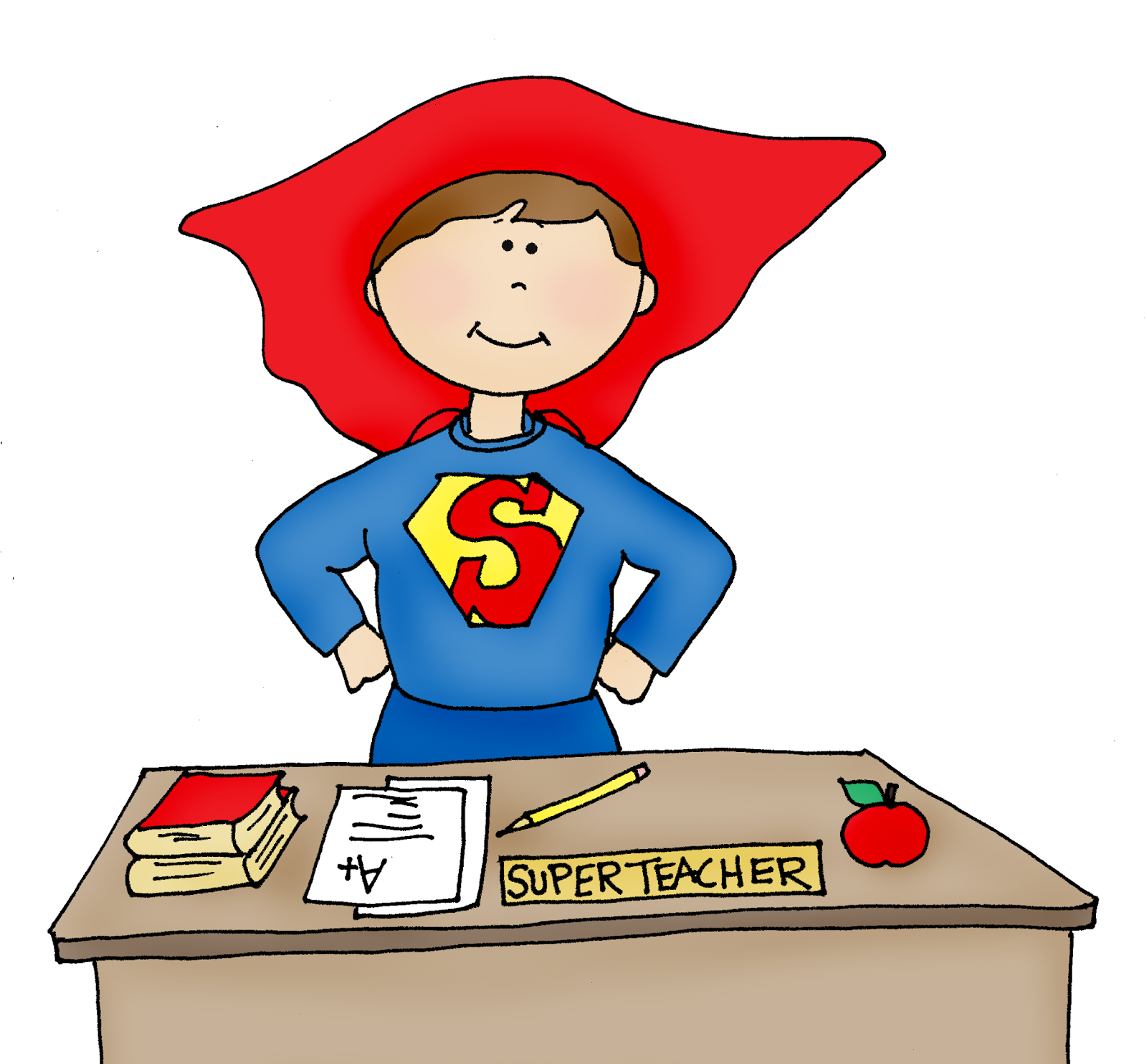 Super Girl clipart supe teacher Speaking Dearie of Super of