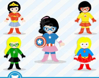 Super Girl clipart supe teacher Use / OFF Super /