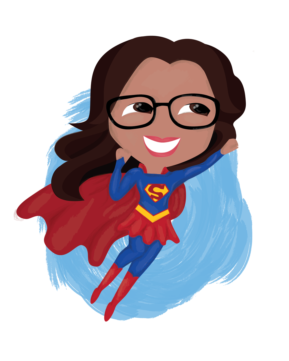 Super Girl clipart supe teacher The Girl Super png 01