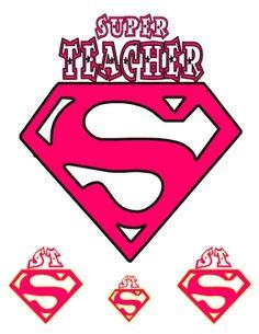 Super Girl clipart supe teacher – Teacher Super 10 Clipart