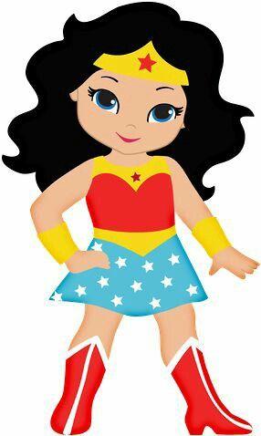 Super Girl clipart supe teacher ONE Wonder Woman TASHA YET
