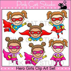 Super Girl clipart supe teacher Superhero FANTASTIC some This characters!!