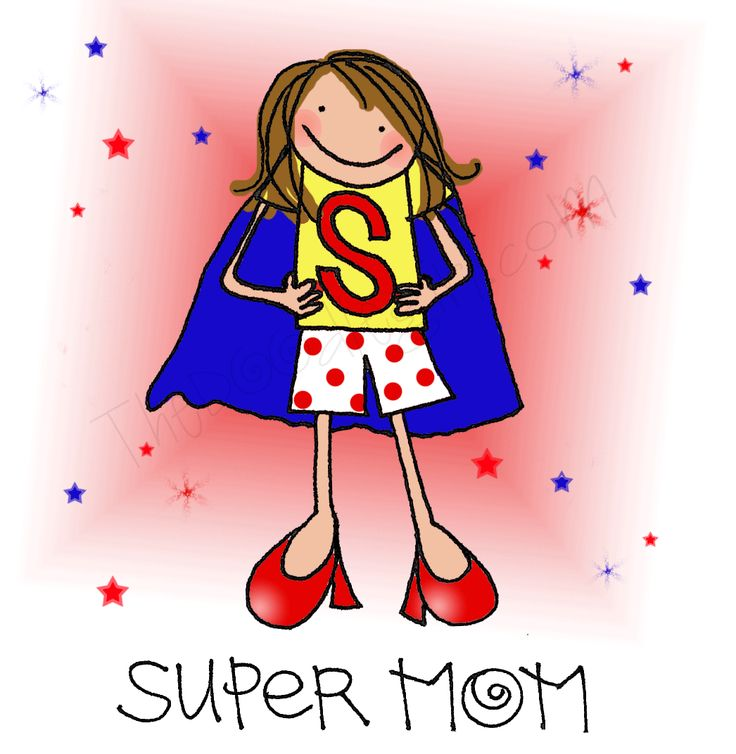 Mommy clipart super mom  Find images Wonder woman
