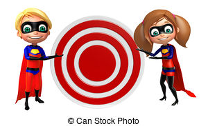 Super Girl clipart superboy Supergirl sign and  Puzzle