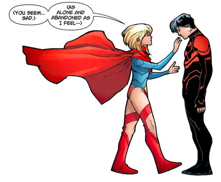 Super Girl clipart superboy The however in touch as