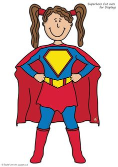 Superman clipart superhero body Family for HERO & ACoAs