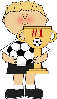 Soccer clipart athletic boy Trophy Players Image Art Basketball