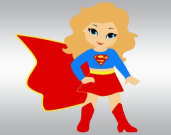 Super Girl clipart cartoon Super File Supergirl cutting and