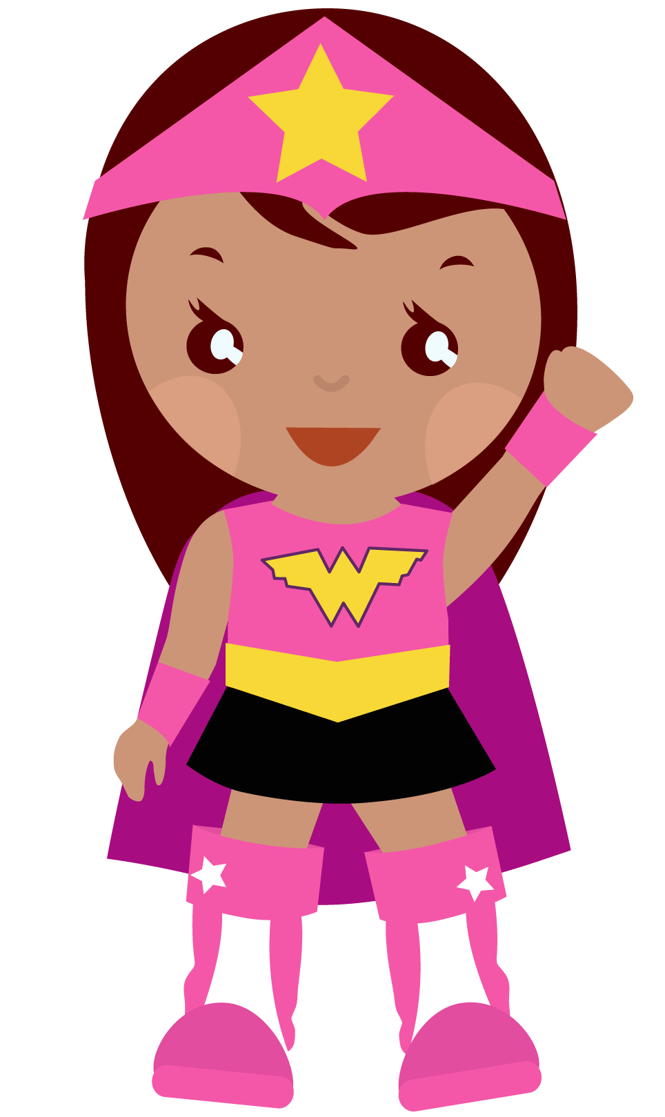 Super Girl clipart brave person Can  use clip art