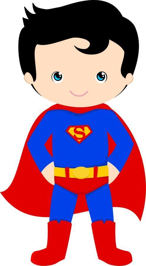 Superman clipart Superhéroes Best clipart Art Pinterest