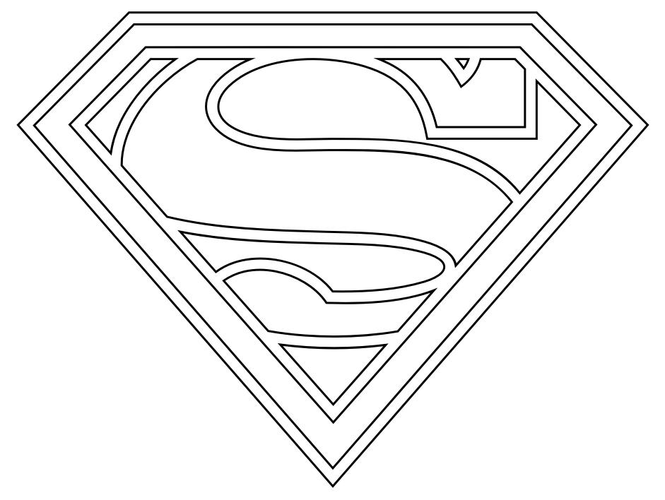 Drawn symbol superman Superman Free  Superman Art