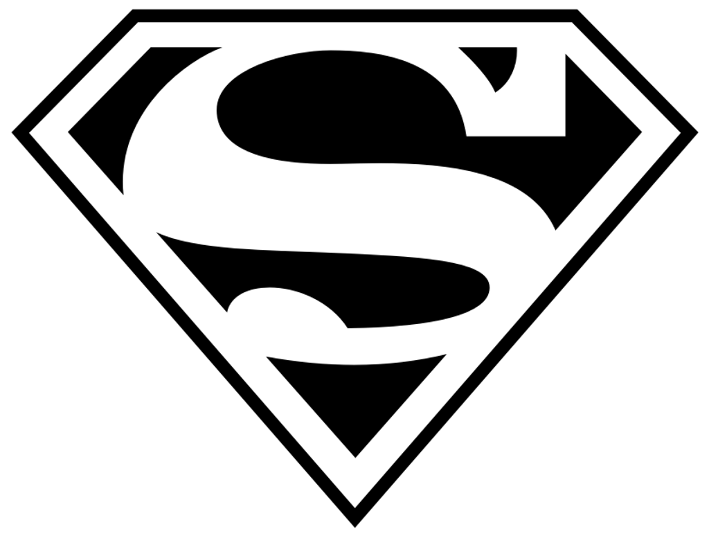 Diamond clipart superman And White Images Panda Clipart