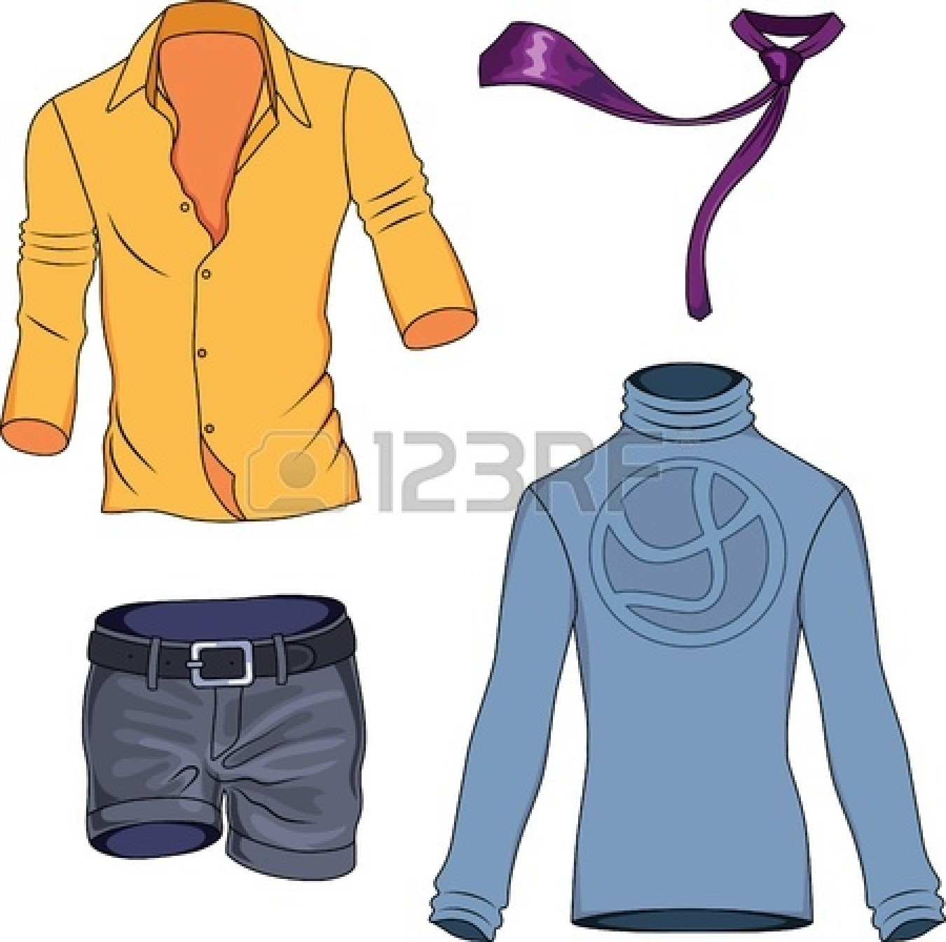 Background clipart clothes #8