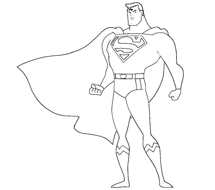 Superman clipart coloring sheet 14 pages 14 coloring coloring