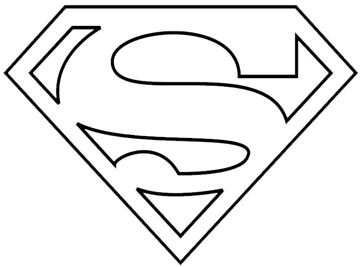 Superman clipart coloring sheet PartyColoring Superhero Graphics Supergirl ·