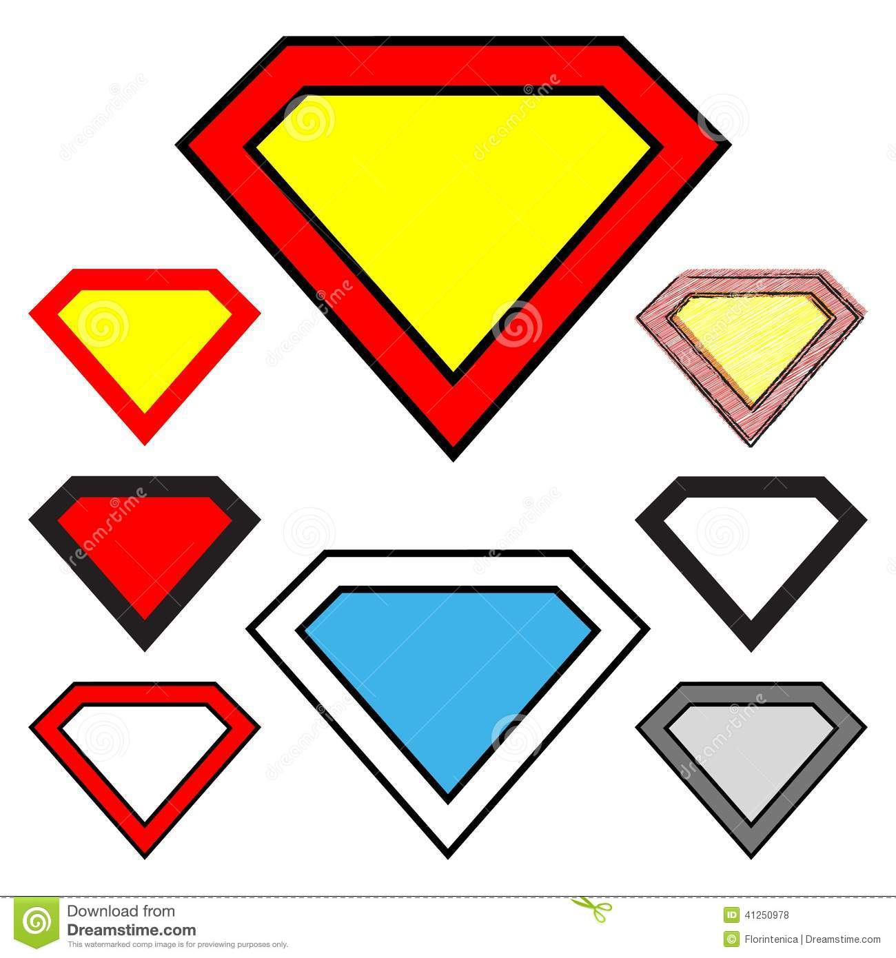 Diamond clipart superman Clipart Panda Clipart Free Diamond