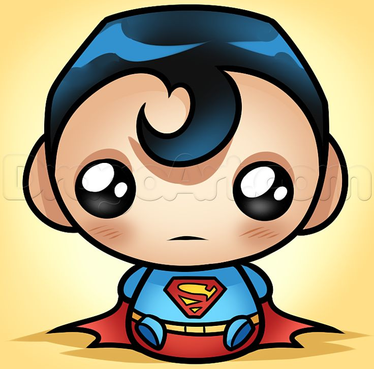 Superman clipart drawn To superman on best 25+