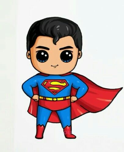Superman clipart drawn By:Draw drawing Superman Best Superman