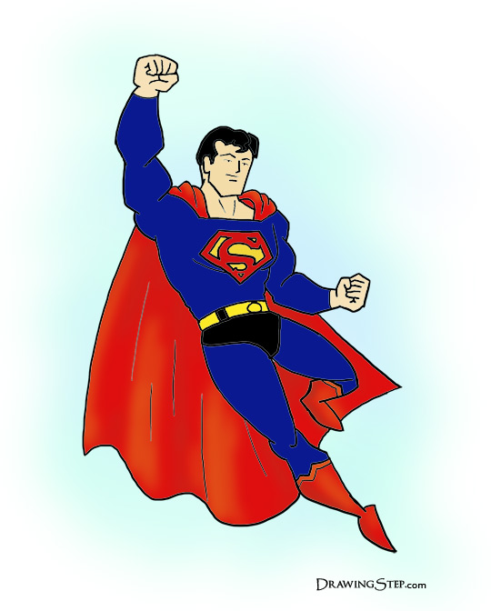 Superman clipart drawn Comic Superman Draw How Final