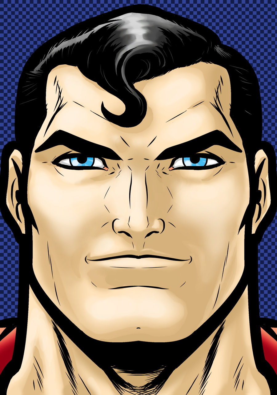 Superman clipart head DeviantART =Thuddleston by by Superman