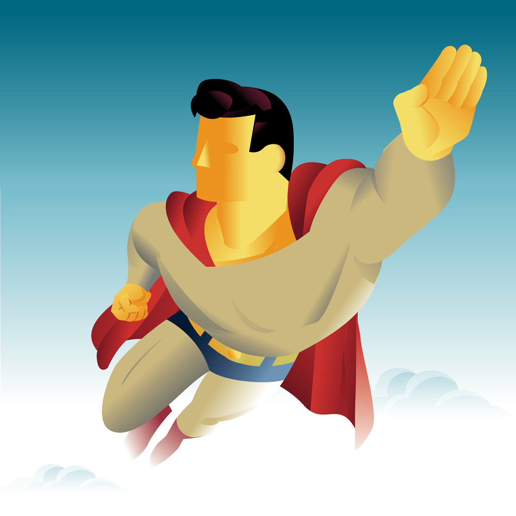 Superman clipart hero Your They Clip Hero Art