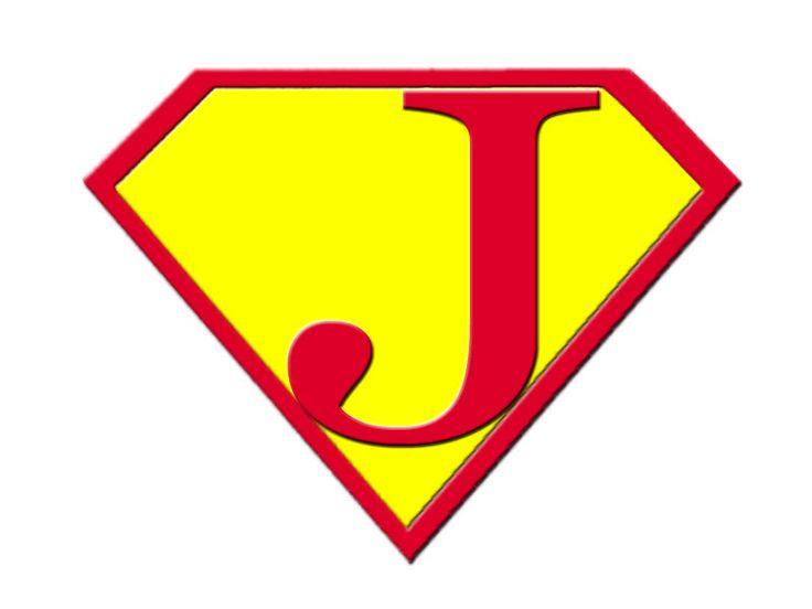 Superman clipart letter J library J! Clip Superman