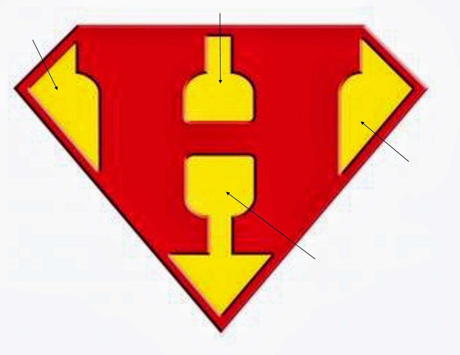Superman clipart letter Superman Letters For Free Art