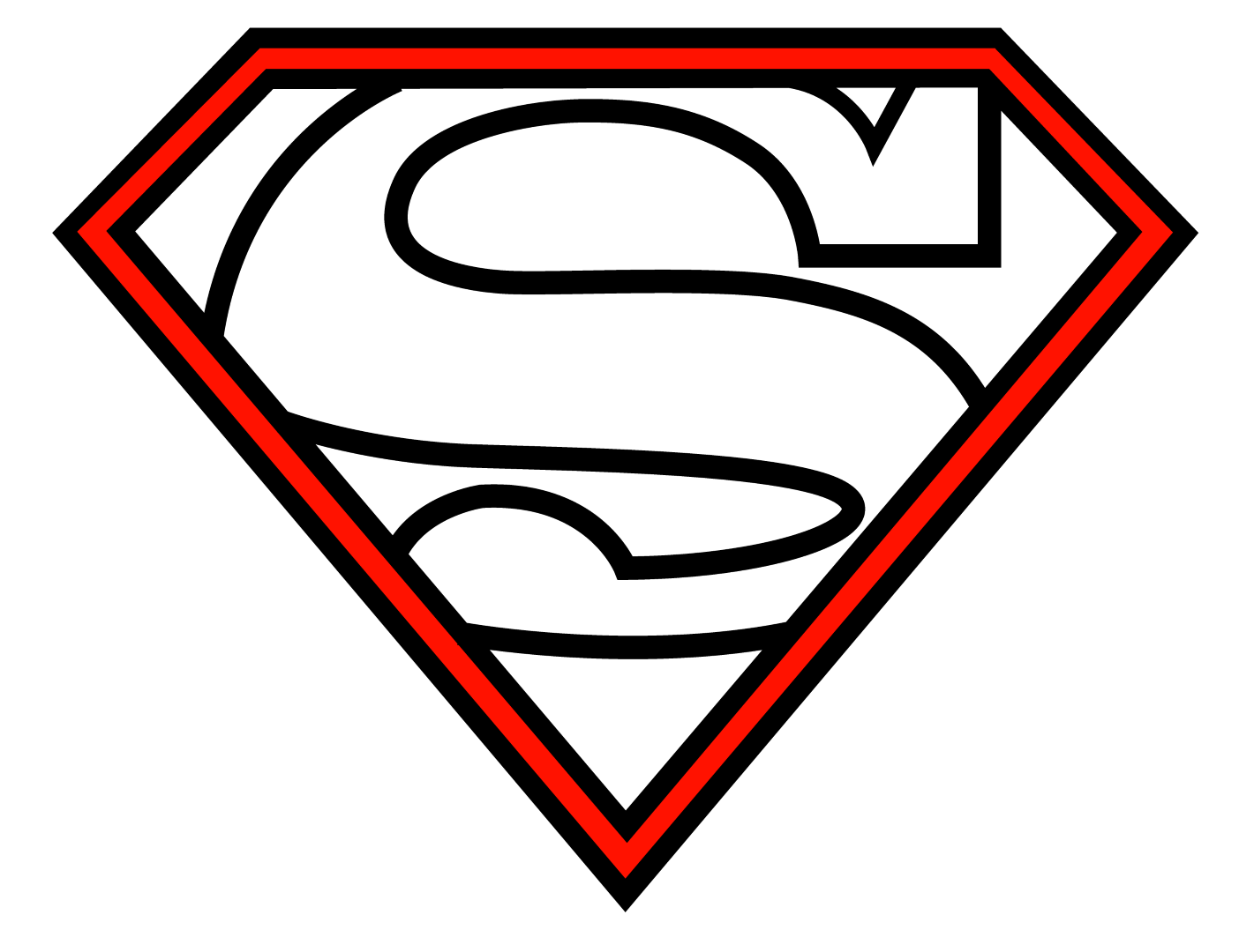 Diamond clipart superman The Superman Draw Logo To
