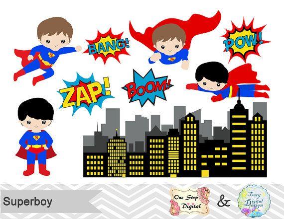 Superman clipart little superhero Images Pinterest Digital Superhero Digital