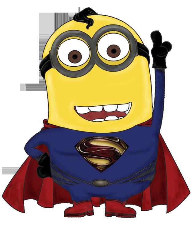 Superman clipart minion Boutique Shop  Papuches fr