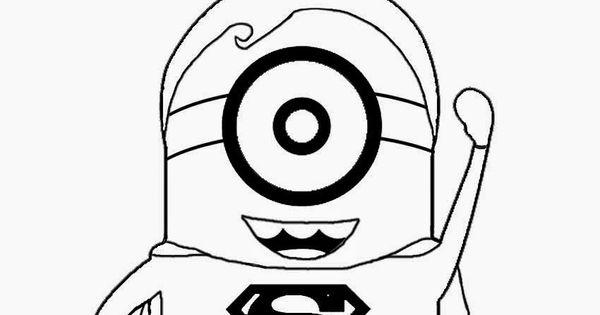 Superman clipart minion Superman free printable of cartoon