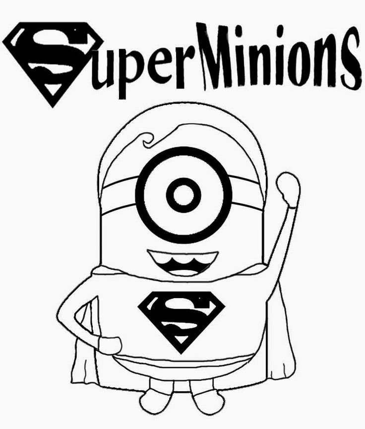 Banana clipart superhero Prints on minions pictures minion