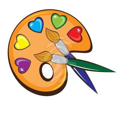 Artwork clipart paintbrush Art Free Clipart Paint Clip