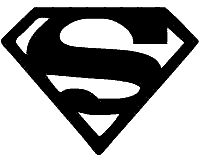 Superman clipart silhouette Pinterest 25+ superman ideas on
