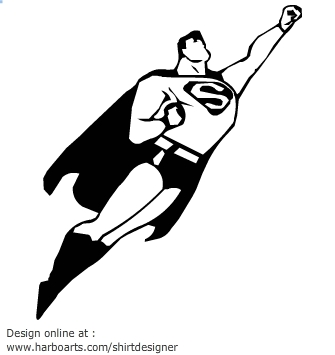 Superman clipart silhouette Try superman superman Projects to