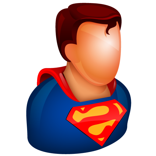 Superman clipart supe power Male play boy guy man