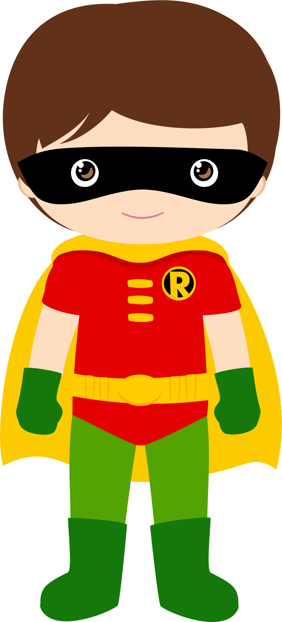 Batman clipart child / Superheroes Art Clip Robín