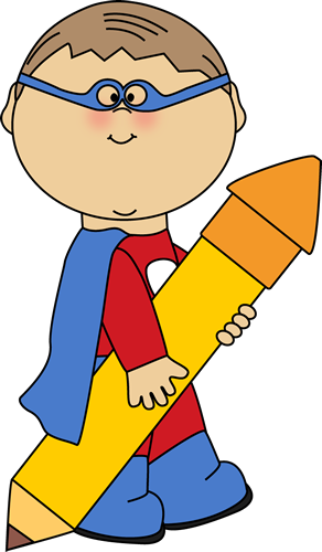 Pencil clipart superhero Clipart Cute Free Super Images