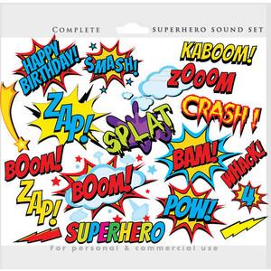 Comics clipart superhero #6