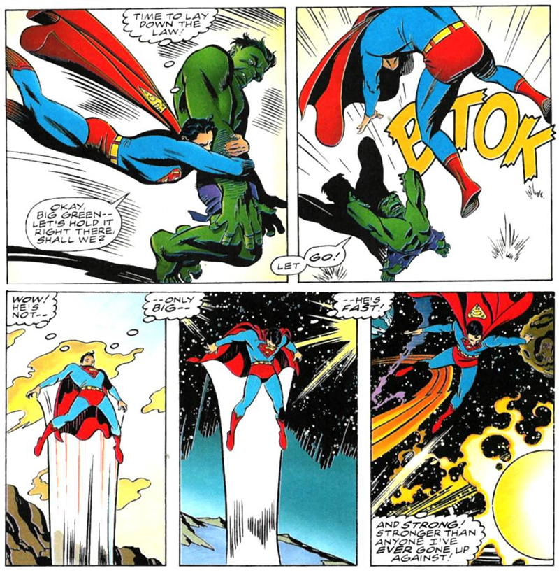Superman clipart the incredible hulk Already Superman man beat fag