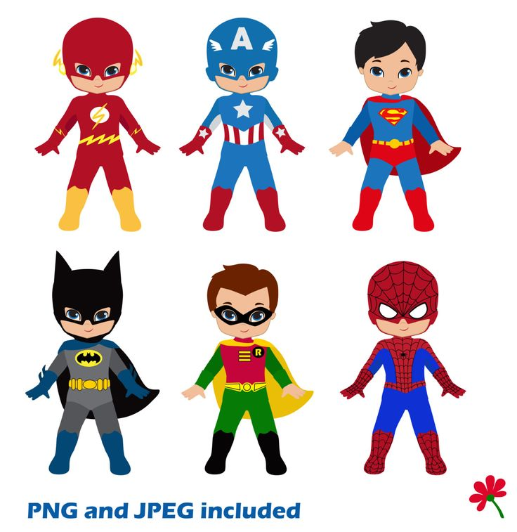 Superman clipart toy / Clipart hero Superboys Bday