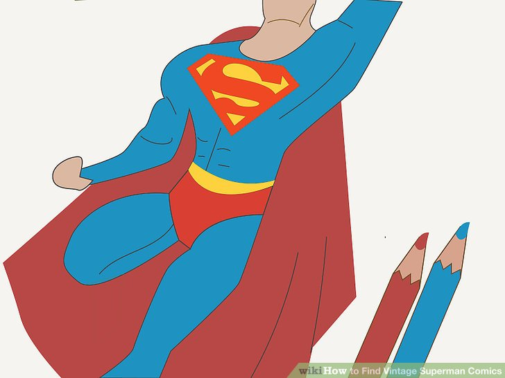 Superman clipart vintage Image Find to Pictures) titled