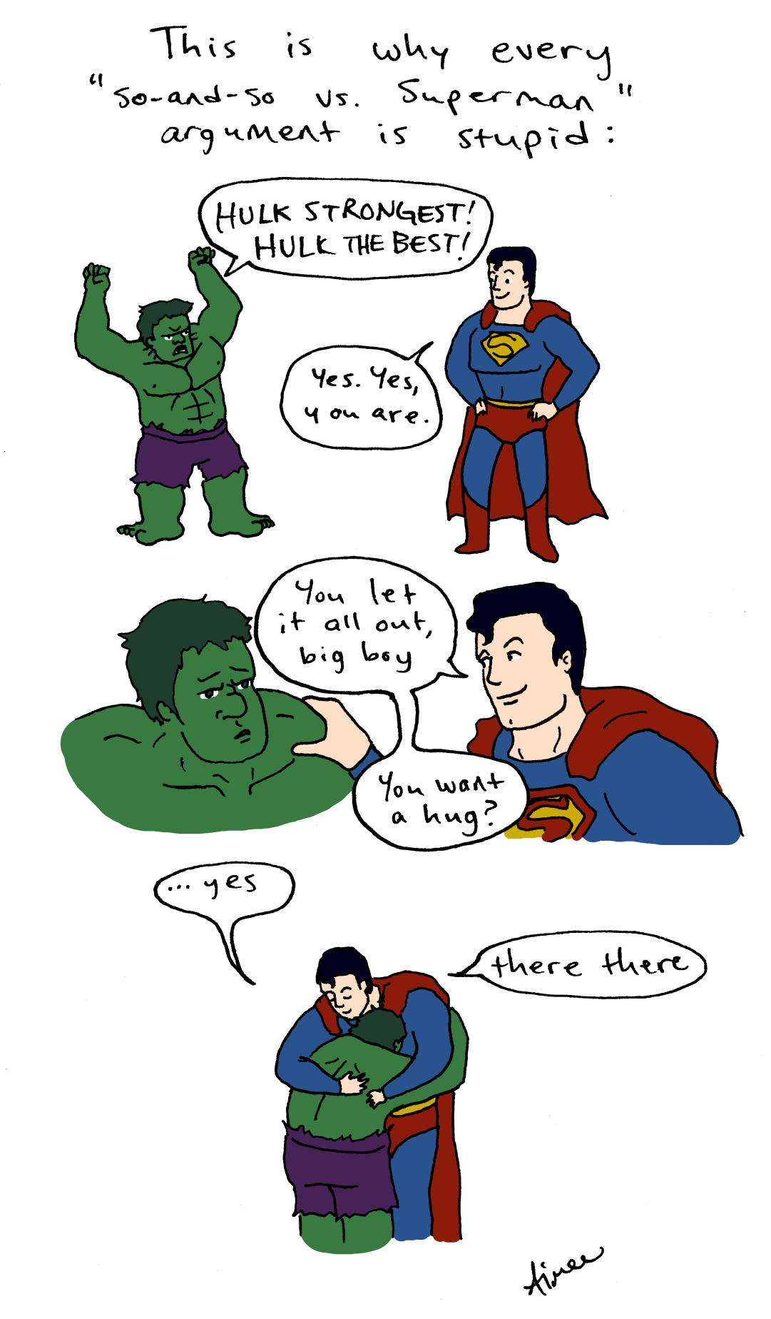 Superman clipart yes you A superpowered Rogers Comics Aimee's