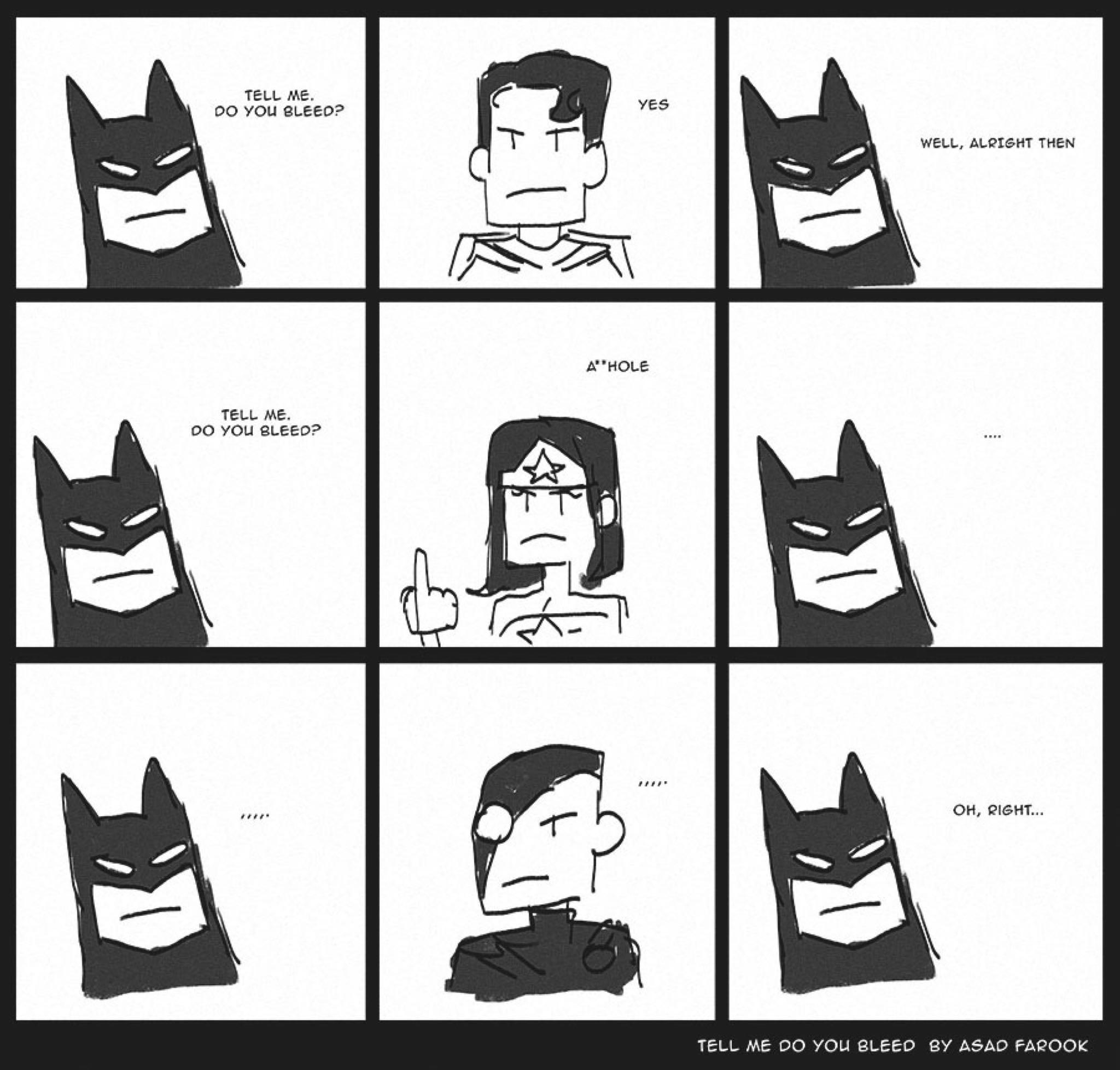 Superman clipart yes you Will Batman vs leak think