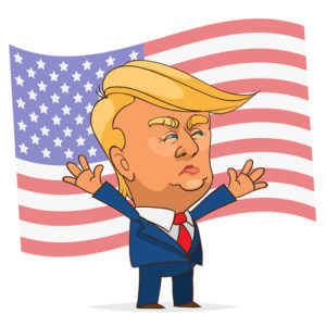 Supporters clipart context Flag America The Question the