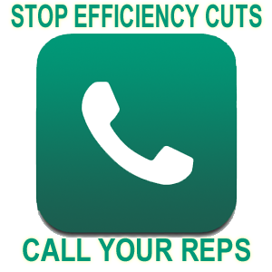 Supporters clipart efficiency Table Energy Call Reps: Cuts
