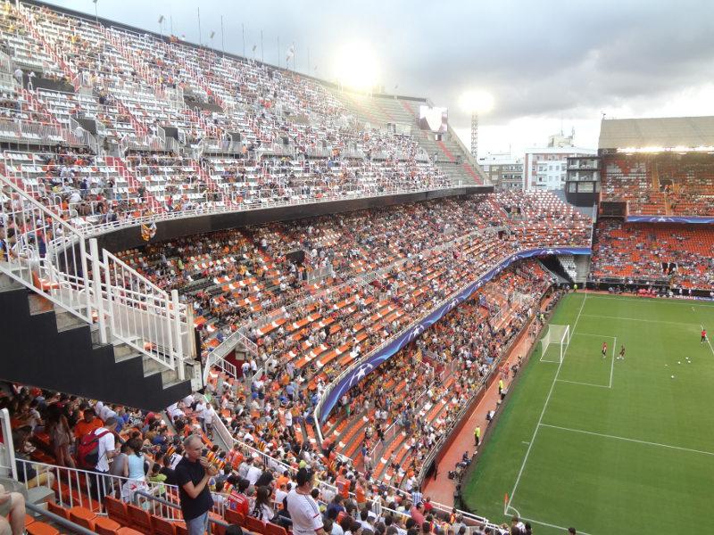 Audience clipart soccer stadium The Estadio Valencia Estadio Guide